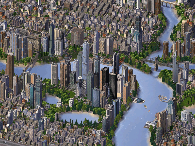 Sim Cities: Maps, Places, Power.